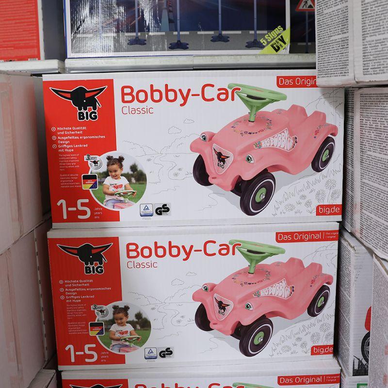 bobby car släp rosa